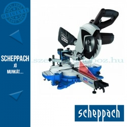 Scheppach HM 80 MP kétsebességű gérvágó fűrész húzófunkcióval és lézerrel