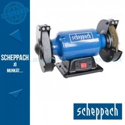Scheppach SM 150 LB kettős köszörű kefekoronggal