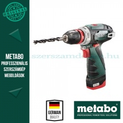 Metabo akkus fúrócsavarozó PowerMaxx BS Quick Basic