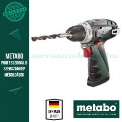 Metabo akkus fúrócsavarozó PowerMaxx BS Quick alapgép