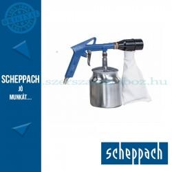 Scheppach pneumatikus homokfúvó pisztoly szemcsegyűjtővel
