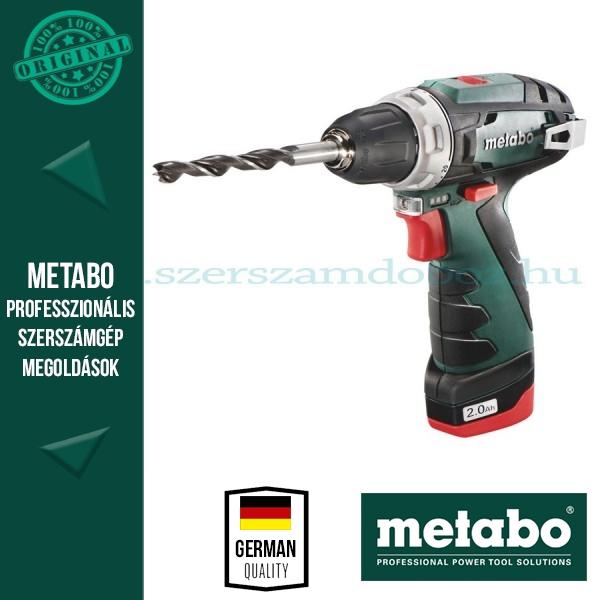 Metabo akkus fúrócsavarozó PowerMaxx BS