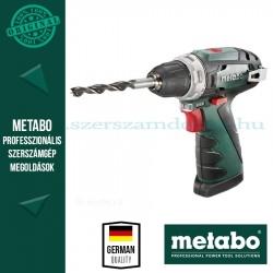 Metabo akkus fúrócsavarozó PowerMaxx BS alapgép