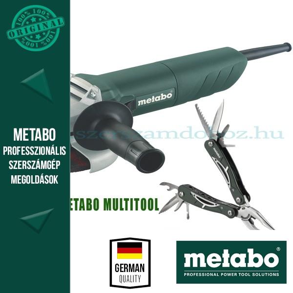 Metabo W 720 - 125 Sarokcsiszoló