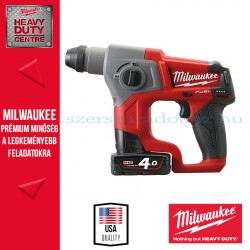 Milwaukee M12 CH-402C Akkus SDS-Plus fúrókalapács