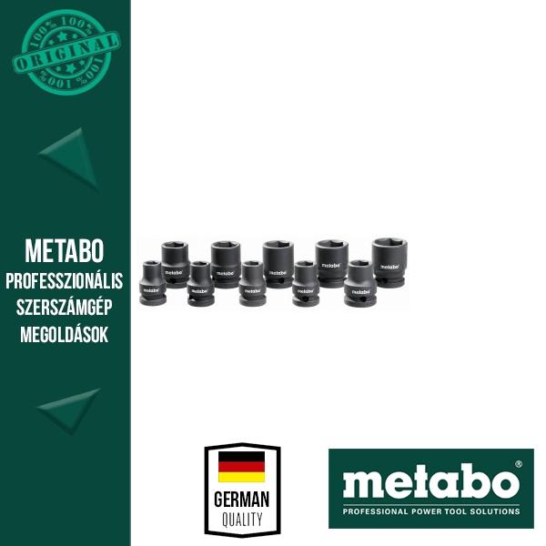 """Metabo 628831000 1/2""""  Dugóskulcs készlet ütvecsavarozókhoz 10 részes"""