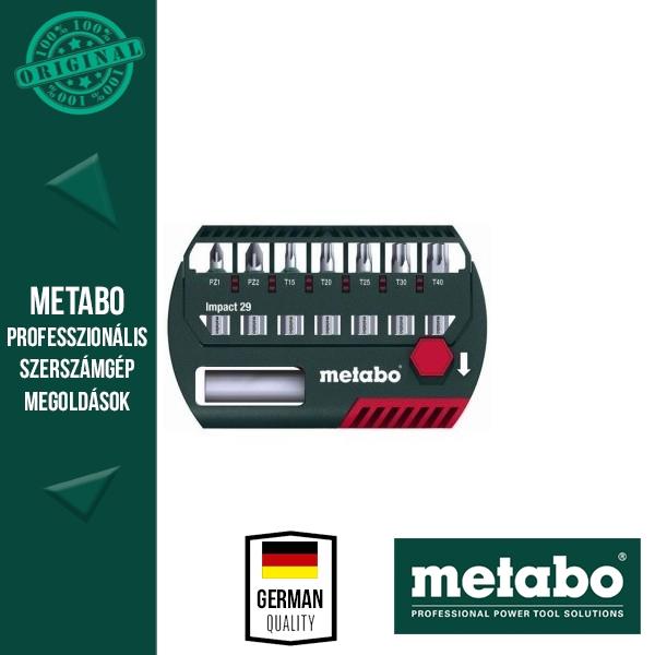 Metabo 628849000 Bit-Készlet 29 mm 8 részes ütésálló