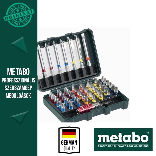 Metabo 626702000 Bit-készlet 56 részes