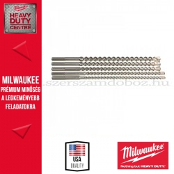 MILWAUKEE SDS-MAX FÚRÓKÉSZLET 5 DB-OS (Ø 16 / 18 X 540 MM, Ø 20 / 22 / 25 X 520 MM )