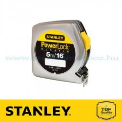 STANLEY POWERLOCK MÉRŐSZALAG 5M/16'×19MM
