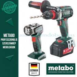 Metabo BS 18 LTX BL Quick fúró-csavarozó+ ULA 14,4-18V LED lámpa