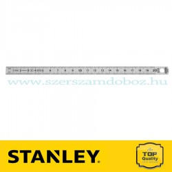 STANLEY ACÉLVONALZÓ INOX 200MM