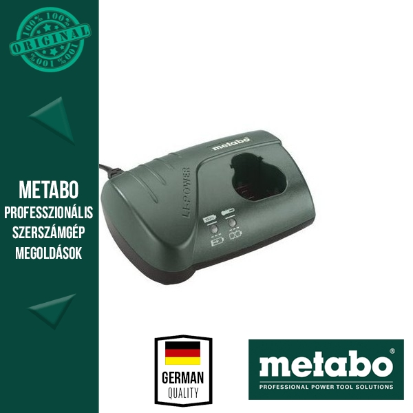 Metabo PowerMaxx LC 40 Akkutöltő 10,8V akkuhoz