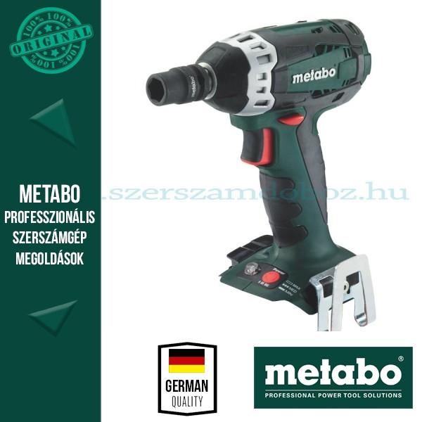 Metabo SSW 18 LTX BL 400 Akkus ütvecsavarbehajtó (alapgép)
