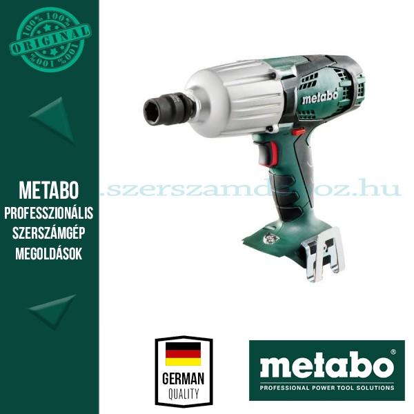 Metabo SSW 18 LTX 600 Akkus ütvecsavarbehajtó (alapgép)
