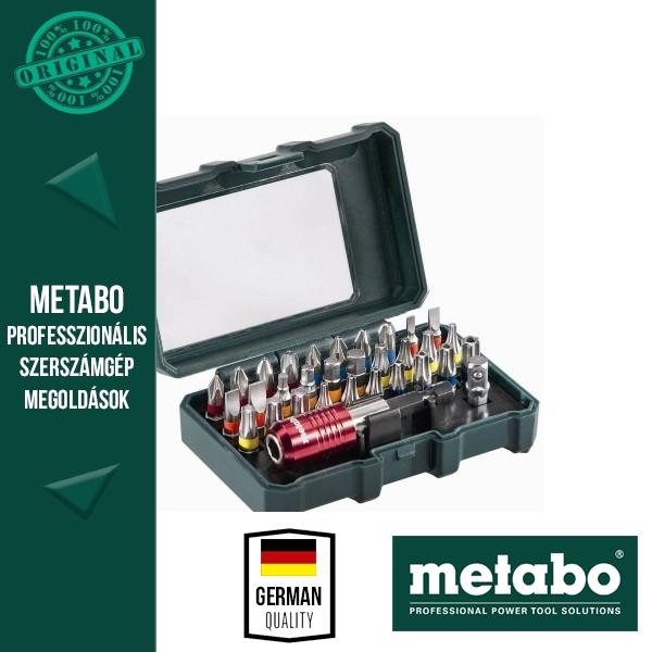 Metabo 626700000 Bitkészlet 32 részes