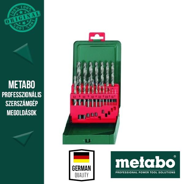 Metabo 627151000 HSS-R fúrókészlet 19 részes