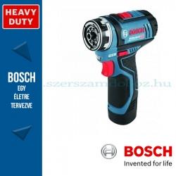 Bosch GSR 12V-15 Li akkus csavarozó L-Boxx-ban