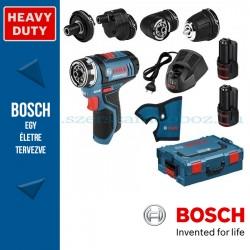 Bosch GSR 12V-15 FC akkus multicsavarozó szett