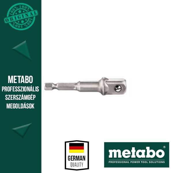 "Metabo 628838000 Adapter 1/4"" E6,3-ról 1/2"" 72mm-re ütésálló"