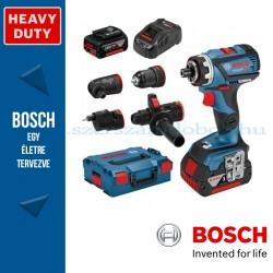 Bosch GSR 18V-60 FC akkus fúrócsavarozó szettben