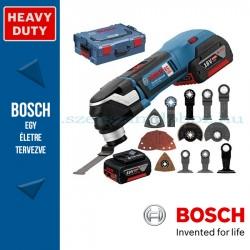 Bosch GOP 18V-28 Professional akkus Multi-Cutter vágószerszám 2x5.0Ah akkuval