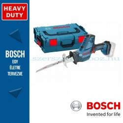Bosch GSA 18 V-LI C akkus szablyafűrész alapgép L-Boxxban