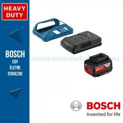Bosch kezdőkészlet: GBA 18V 4,0 Ah W akku + GAL 1830 W vezeték nélküli töltő