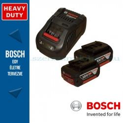 Bosch kezdőkészlet: 2 x GBA 18V 6.0 Ah akku + GAL 1880 CV töltő