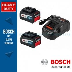 Bosch kezdőkészlet: 2 x GBA 18V 6,3 Ah EneRacer akku + GAL 1880 CV töltő