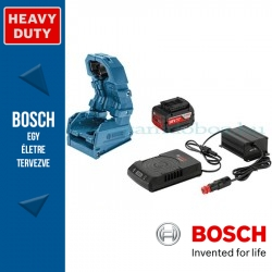 Bosch autós készlet: GBA 18V 4.0Ah W akku + GAL 1830 W-DC töltő + tartó vezeték nélküli töltéshez