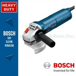 Bosch GWS 11-125 sarokcsiszoló szerszámtáskában, tartozékkészlettel
