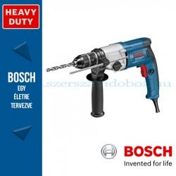 Bosch GBM 13-2 RE fúrógép kartondobozban, tartozékkészlettel