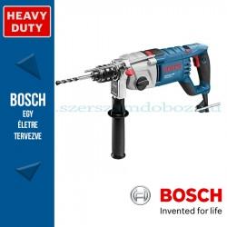 Bosch GSB 162-2 RE ütvefúrógép szerszámtáskában, tartozékkészlettel