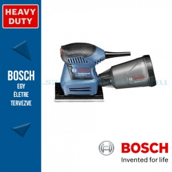 Bosch GSS 160-1 A rezgőcsiszoló tartozékkészlettel