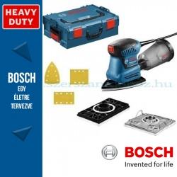 Bosch GSS 160 Multi rezgőcsiszoló L-BOXX tárolóban, tartozékkészlettel