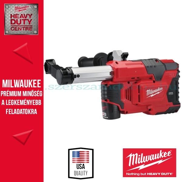 Milwaukee M12 DE-201C Porelszívó fúrókalapácshoz