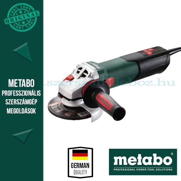 Metabo W 12-125 Quick Sarokcsiszoló
