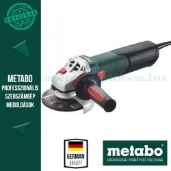 Metabo W 12-125 Quick Sarokcsiszoló + koffer