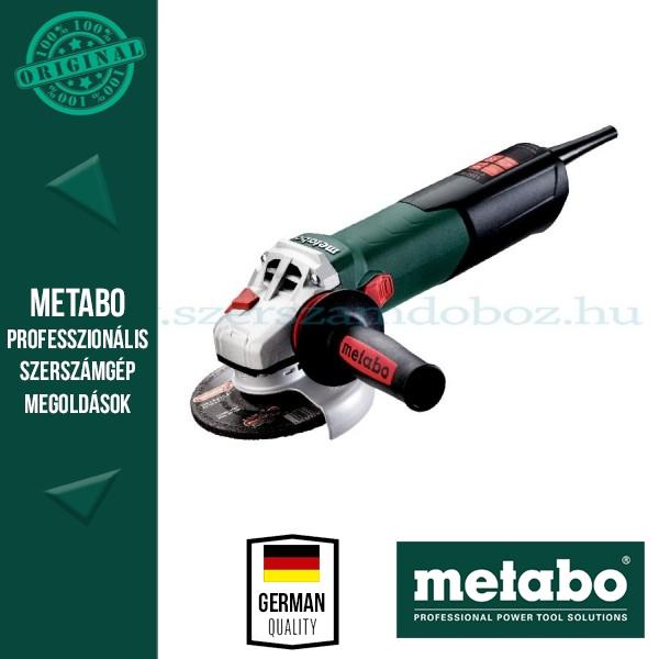Metabo WEV 15-125 Quick Sarokcsiszoló állítható sebességgel