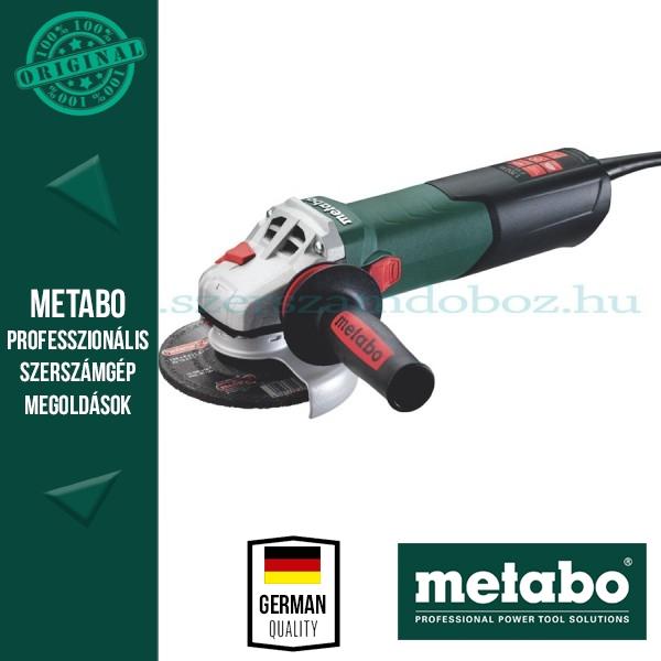Metabo WEA 17-125 Quick Sarokcsiszoló