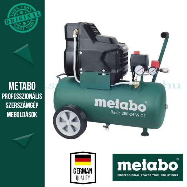 Metabo BASIC 250-24 W OF Kompresszor olajmentes