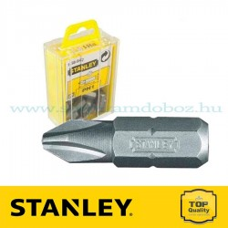 STANLEY BIT PH1×25MM 25DB