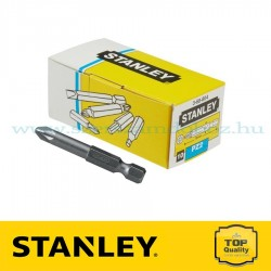 "STANLEY 1/4""-OS BEHAJTÓHEGY PZ2×70MM 10DB"