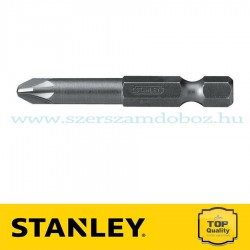 "STANLEY 1/4""-OS BEHAJTÓHEGY PZ2×100MM 10DB"