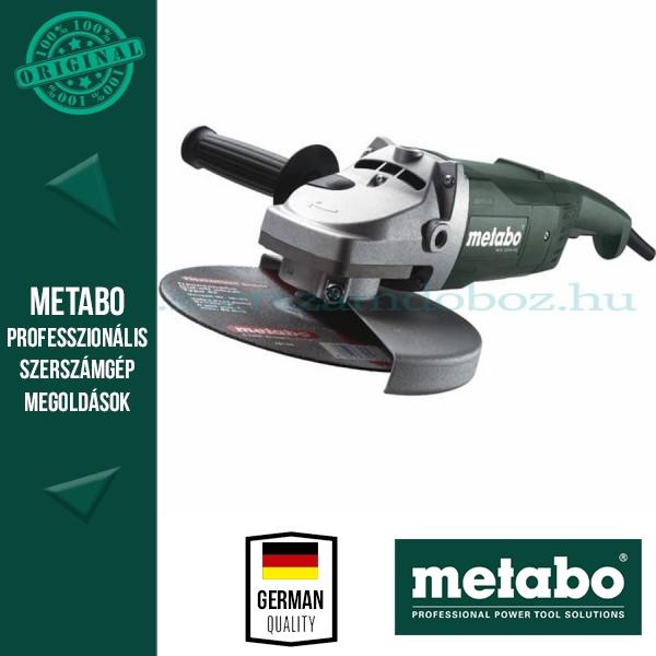 Metabo WX 2200-230 sarokcsiszoló + AJÁNDÉK gyémánttárcsa