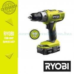 Ryobi LLCDI18022 18V akkus fúró-ütvefúró-csavarbehajtó