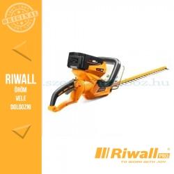 Riwall RAHT5640 Akkus sövényvágó 40V