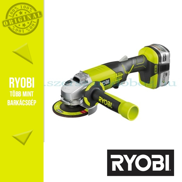 Ryobi R18AG 18V 4,0Ah akkus sarokcsiszoló