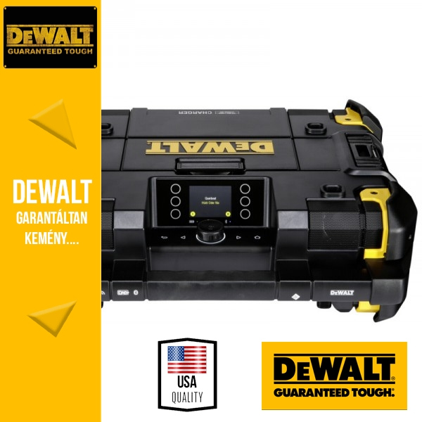 DeWalt DWST1-81078-QW 18V TSTAK kompatibilis rádió